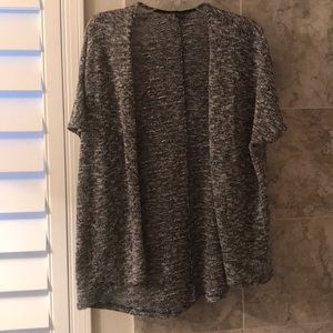 Sparkle and Fade Short Sleeve Sweater